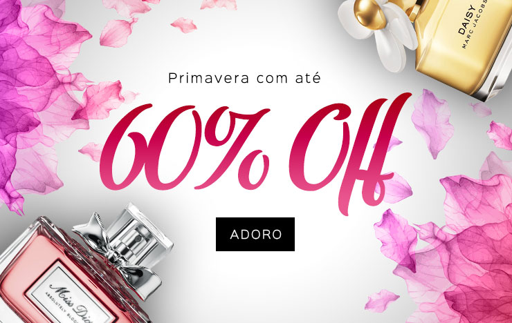 08/10 - Primavera com até 60% OFF (on)