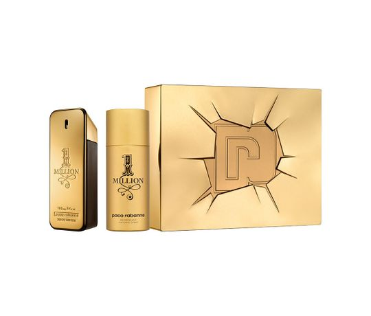 Kit-1-Million-Paco-Rabanne-Eau-De-Toilette-Masculino-100-Ml-E-Desodorante-150-Ml