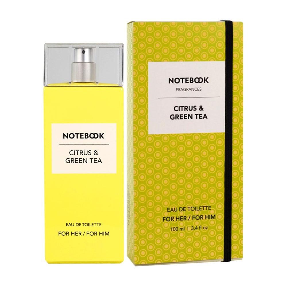 Notebook Citrus   Green Tea De Selectiva Spa Eau De Toilette Feminino - 100  ml 4663eb6567
