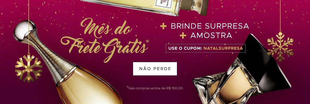 14/12 - Natal: Mês do frete grátis (on)