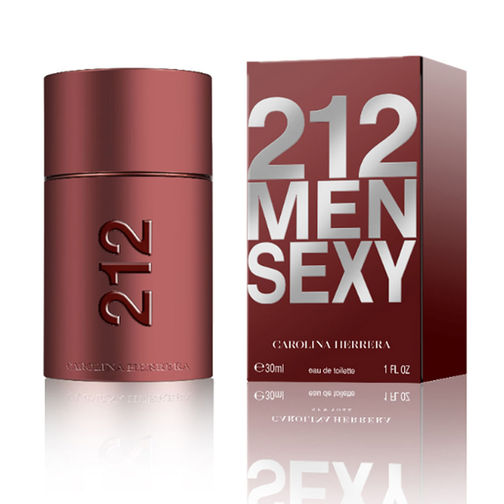 9ca41593960 Perfume 212 Sexy Men De Carolina Herrera Masculino Eau de Toilette ...
