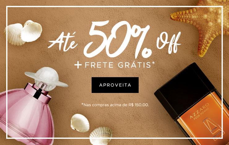14/01 - Verão: Até 50% OFF + Frete grátis (on)