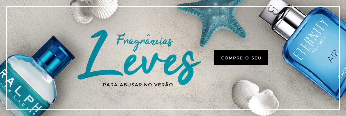 16/01 - Verão: Fragrâncias Leves (on)