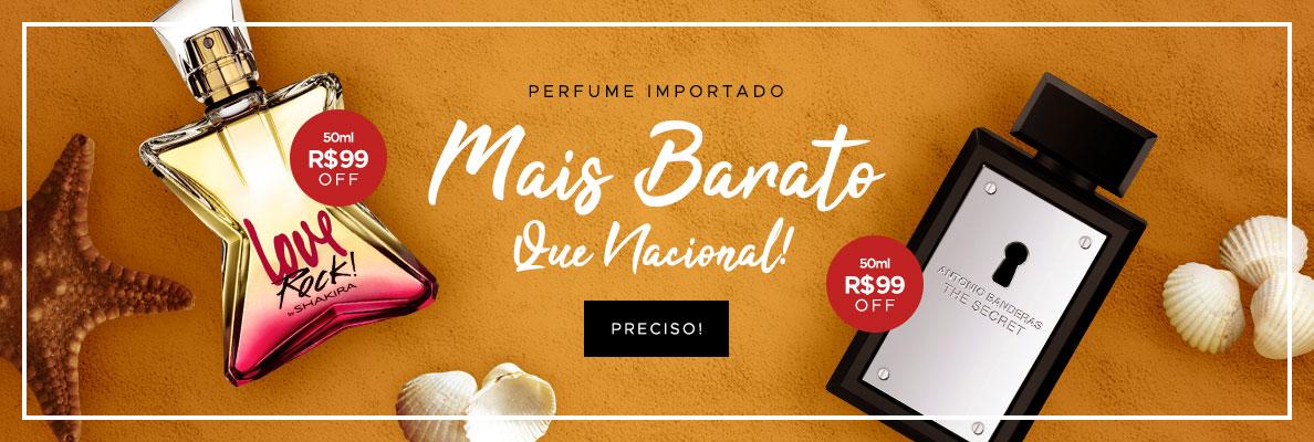 22/01 - Verão: Perfume Importado mais BARATO que nacional! (on)