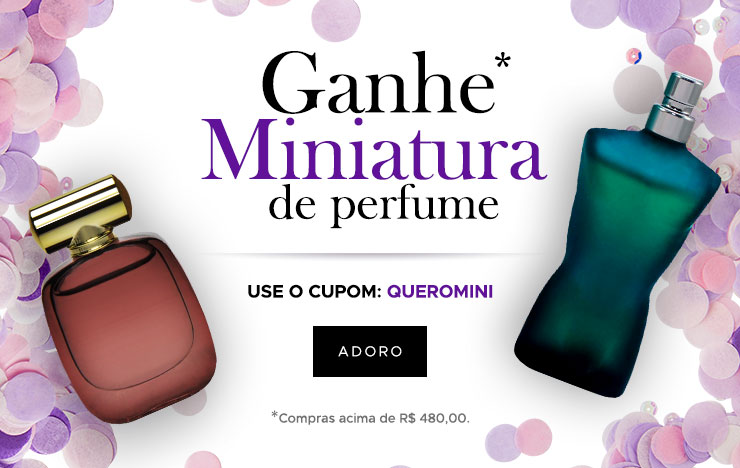 22/02 - Carnaval: Ganhe miniatura de perfumes (on)