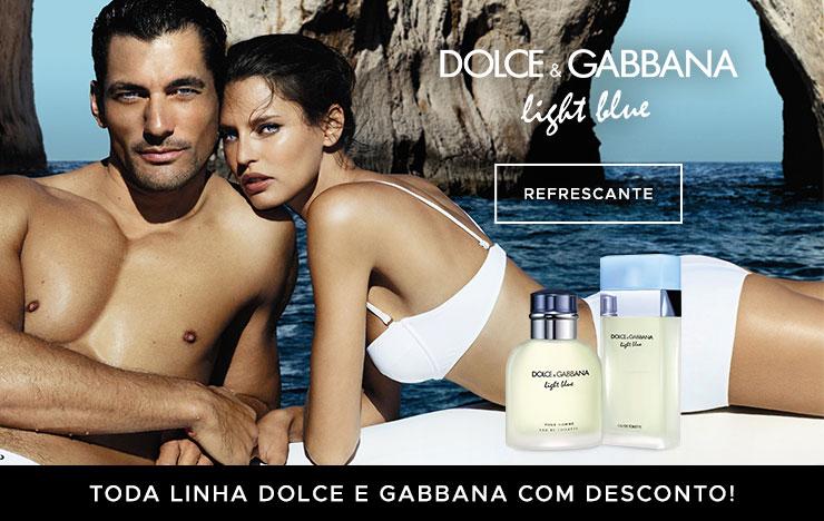 12/03 - Toda linha Dolce e Gabbana com desconto! (on)
