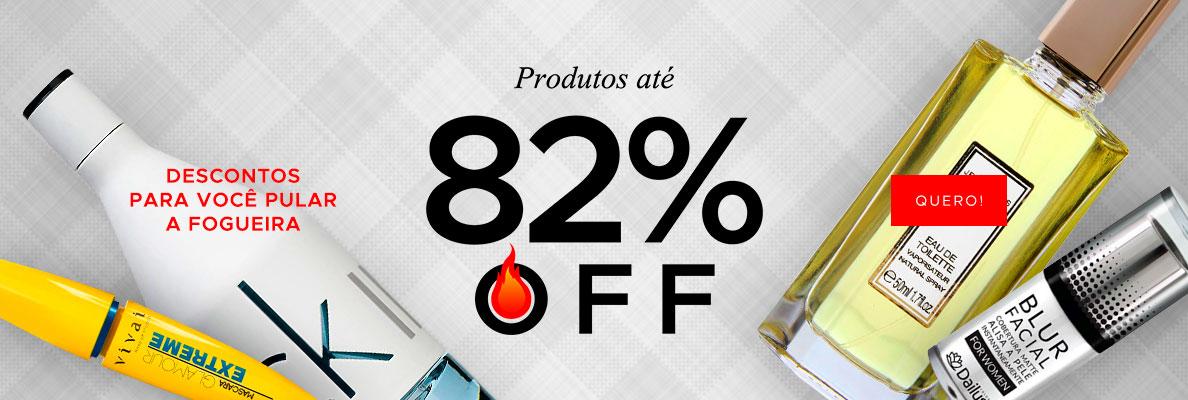 24/06 - Arraial: Até 82% OFF (on)