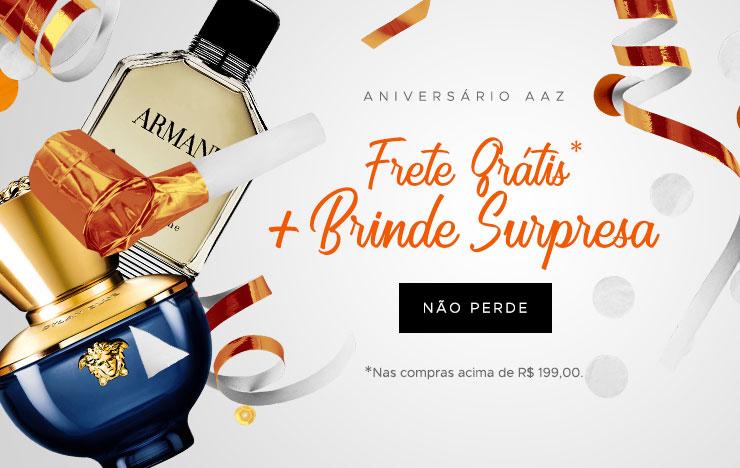 Frete Grátis + Presente Surpresa (on)