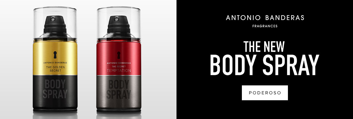 Grife: Antonio Banderas - Body Spray (on)
