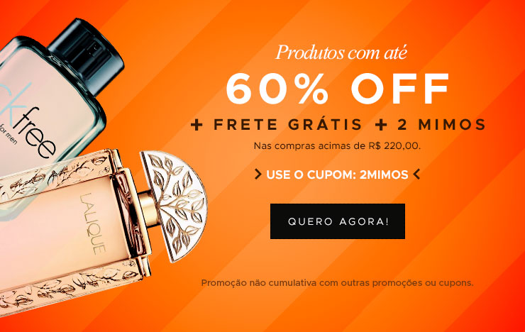 60% OFF + 2 Mimos (on)