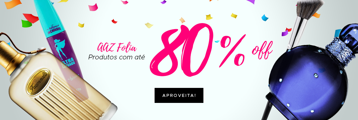 AAZ Folia - Até 80% OFF (on)