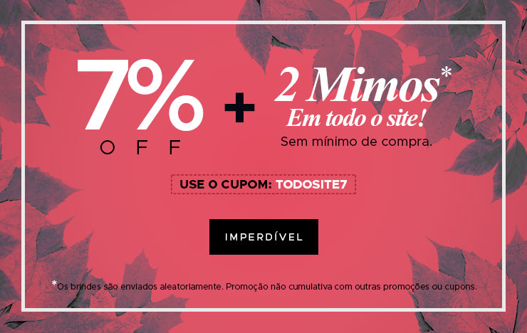 7% OFF + 2 Mimos (on)