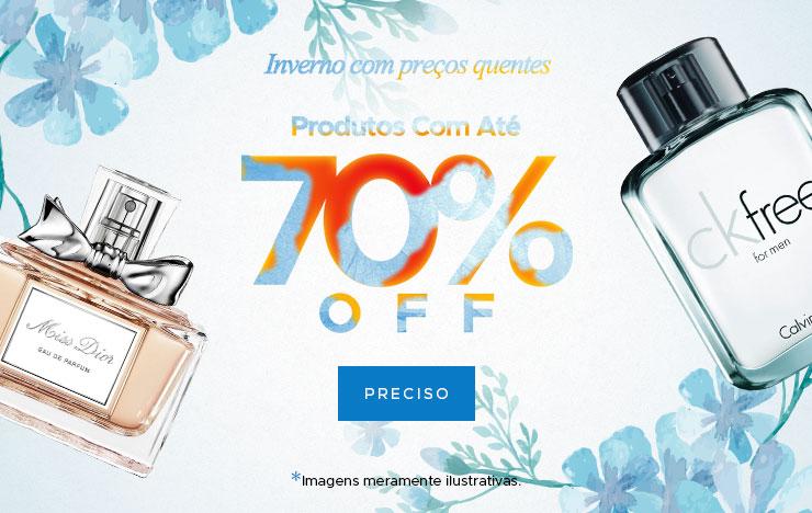 Produtos até 70% OFF (on)