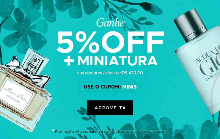 5% OFF + Miniatura (on)