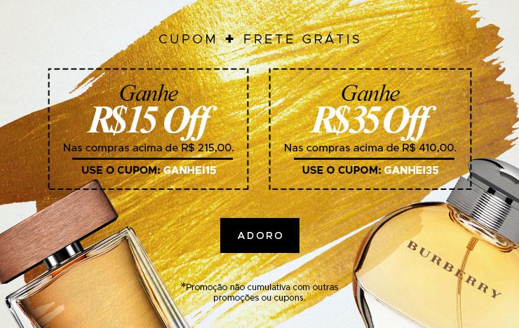 Cupom + Frete Grátis (on)