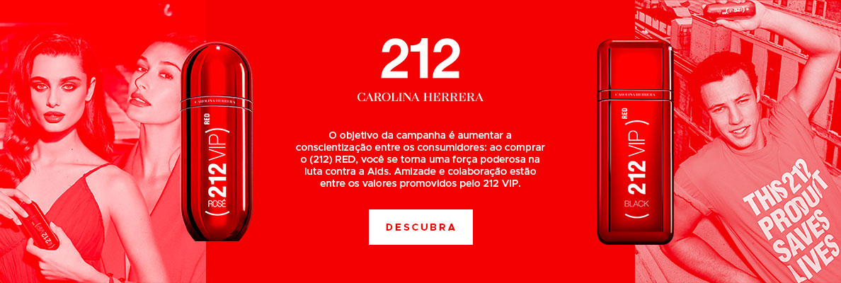 Grifes: Carolina Herrera - 212 Vip Red (on)