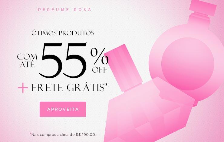 Outubro rosa: Com até 55% OFF (on)