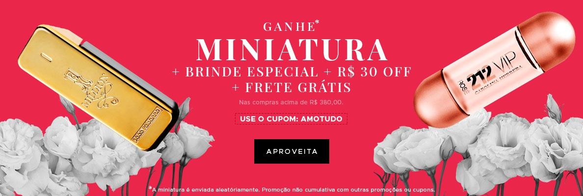Miniatura + Brinde + Frete + R$ 30(on)